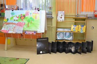 Photo: klasy posiadają kąciki tematyczne