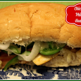 Chicken Philly Hoagie!