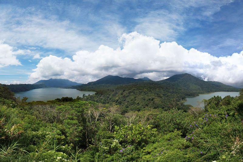 Twin Lake Bedugul, North Bali