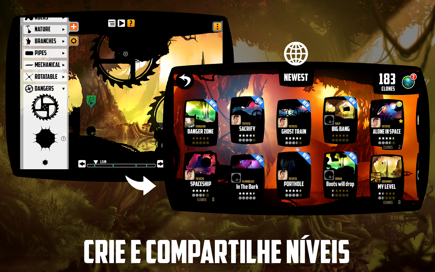 BADLAND: captura de tela