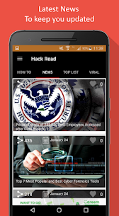HackRead – Latest Tech and Hacking News Apk Download For Android 2