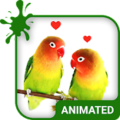 Lovebirds Animated Keyboard