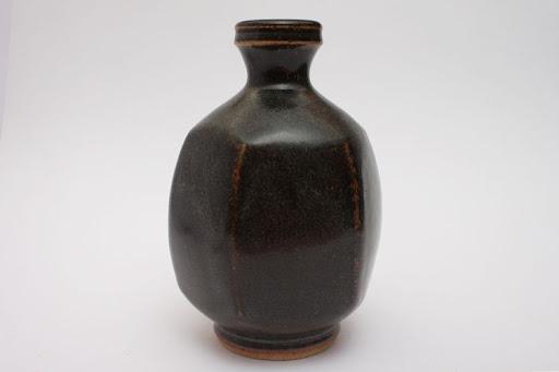 John Leach Ceramic Bottle