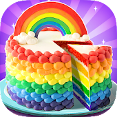 Tải Game Rainbow Unicorn Cake Maker