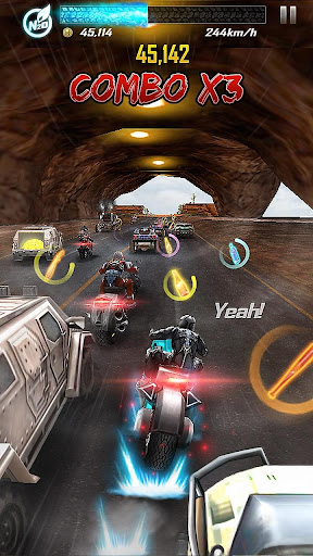 Death Moto 5 : Free Top Fun Motorcycle Racing Game  captures d'écran 2