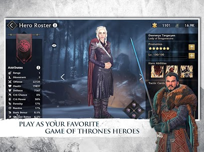 Game of Thrones Beyond the Wall Apk Mod +OBB/Data with [Unlimited Resources] 9