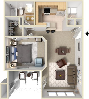 Go to The Peak Floorplan page.