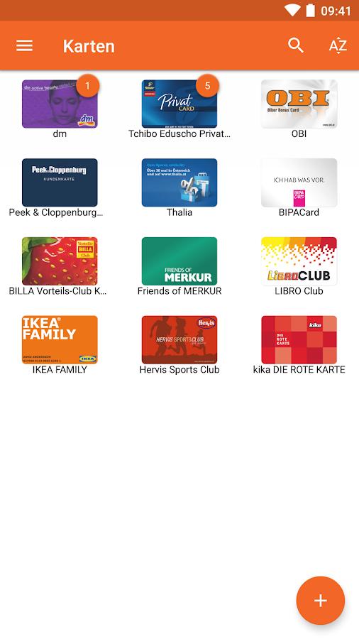clubkarten app