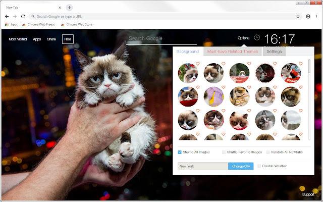Grumpy Cat Wallpapers New Tab - freeaddon.com