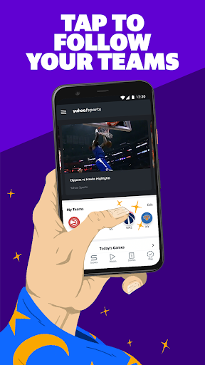 Yahoo Sports: Watch games & get live sports scores screenshots 2