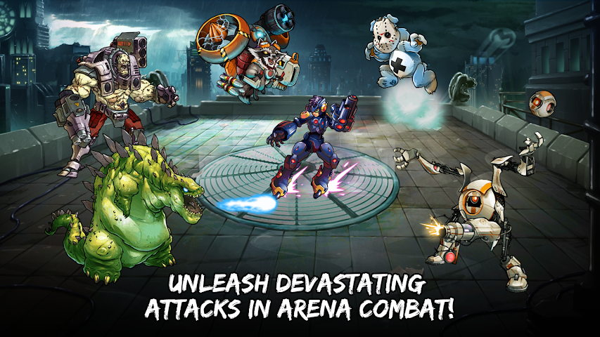 android Mutants: Genetic Gladiators Screenshot 13