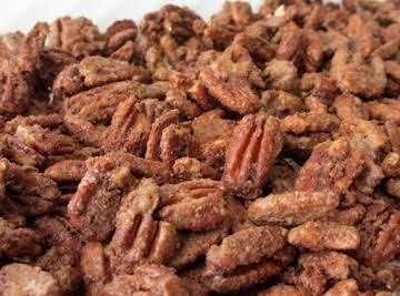 Cinnamon Spiced Nuts