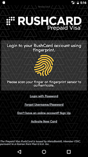 RushCard- screenshot thumbnail