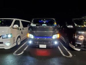 ハイエースバン TRH200V スーパーGL 2008年式のカスタム事例画像 関西ジローさんの2020年01月07日04:48の投稿