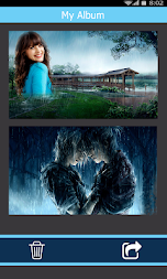 Rain Photo Frames | Rain Overlay Photo Frames HD APK screenshot thumbnail 5