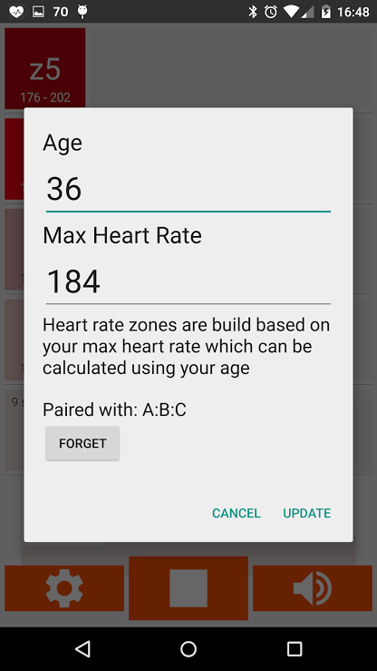 Heart Rate Monitor & Announcer- screenshot