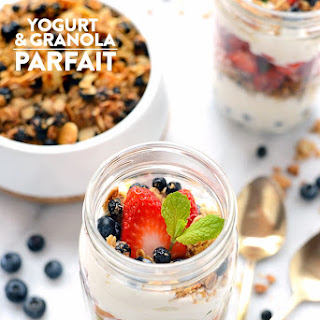 Super Simple Yogurt and Granola Parfaits