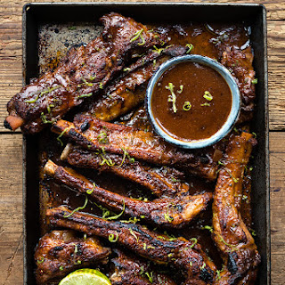 Pressure cooker Korean pork ribs.