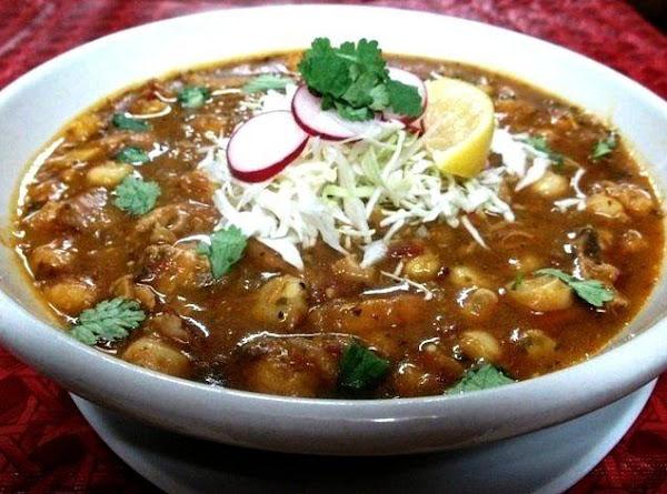 Spicy Chicken Pozole Recipe