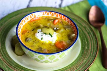 Polish Pickle Soup