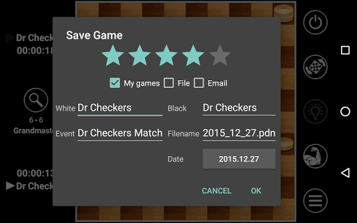 Draughts Pro เกม สำหรับ Android screenshot