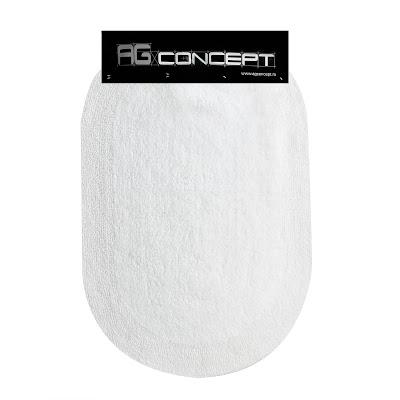 Коврик для ванны Ag concept 60х90 см белый овал