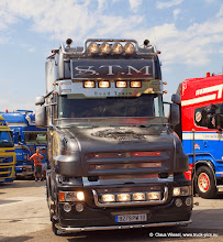 Photo: Let there be light!               Nog Harder Lopik 2013 (NL). Click for more photos: www.truck-pics.eu.