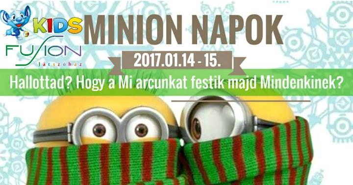 A kis Minionok hétvégéje 2017. január 14-15
