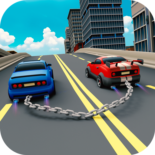 Chained Cars Racing Game