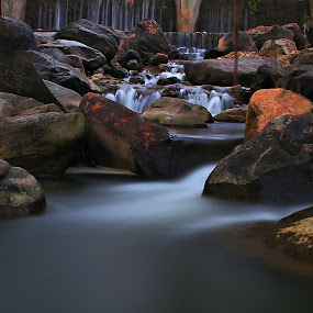 Piece of river by Aryanto Sujono - Landscapes Waterscapes