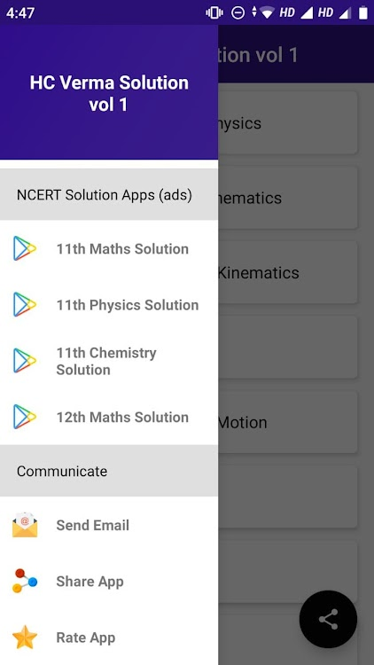 HC Verma Solutions Vol 1 – (Android Apps) — AppAgg
