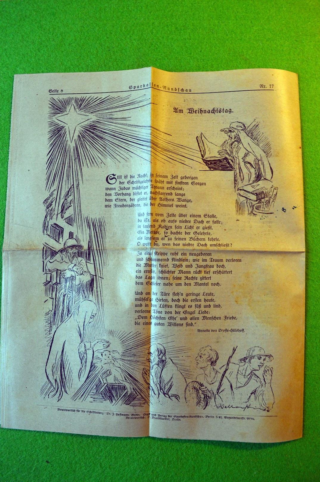 Sparkassenrundschau Dezember 1926