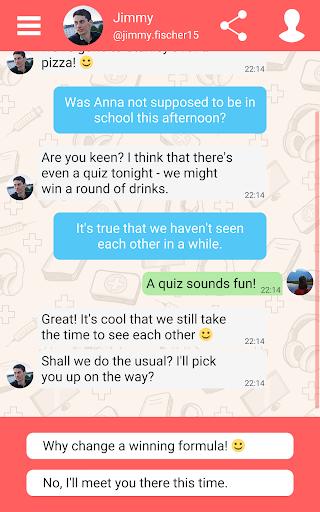 Hey Love Adam: Texting Game 1.91 screenshots 12