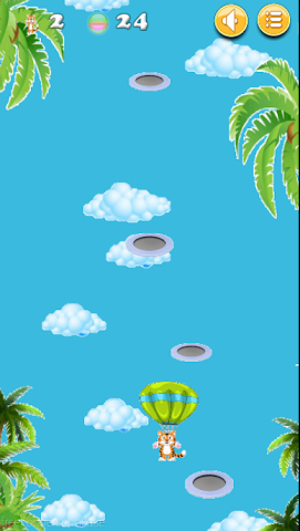 android Happy Tiger Jump Screenshot 3