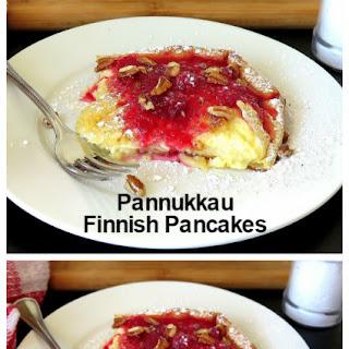Pannukkau (Finnish Pancakes).