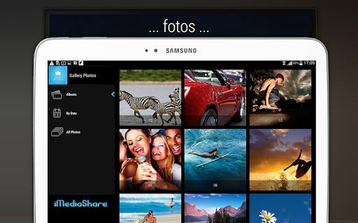 iMediaShare – Fotos e Música screenshot 10