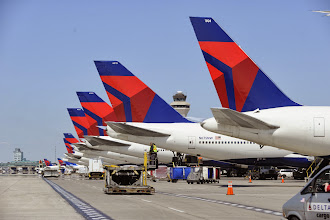 Photo: The McNamara Terminal at Detroit Metro Airport is home to the second-largest hub of Delta--the world's largest airline.  CREDIT: Wayne County Airport Authority/Vito Palmisano.