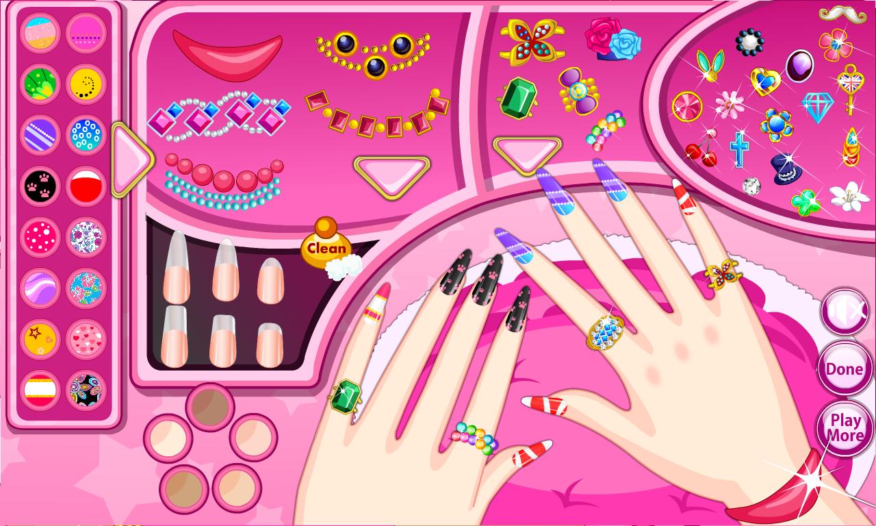 Fashion nail salon android apps on google play fashion nail salon screenshot prinsesfo Images