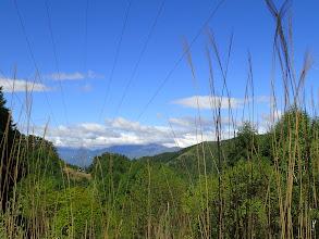 中央左辺りに経ヶ岳