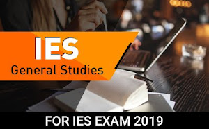 IES – General Studies Course For IES Exam 2019