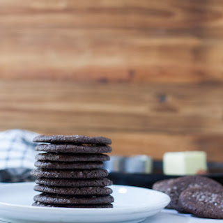 Dutch Chocolate Cookies - Dutch Cocoa Cookies.