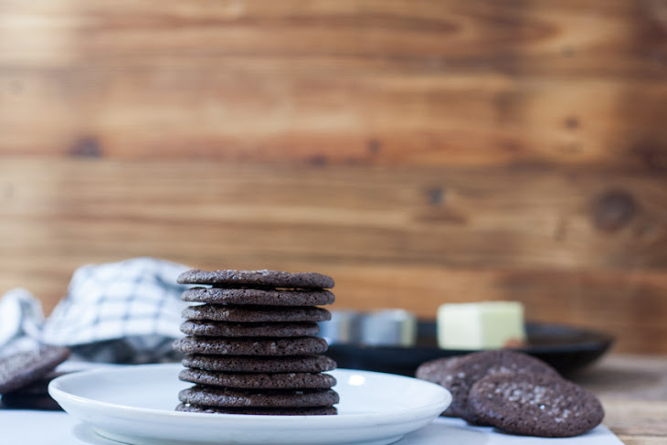 Dutch Chocolate Cookies - Dutch Cocoa Cookies Recipe