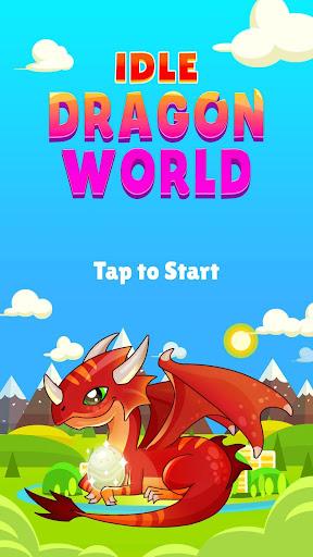 IDLE DRAGON WORLD:FUN GAME 1.0.1 screenshots 1