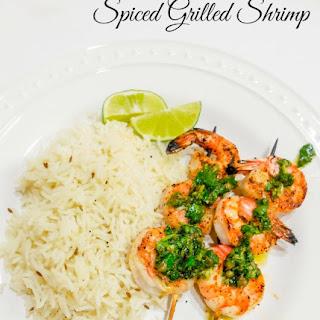 Spiced Grilled Shrimp Recipe