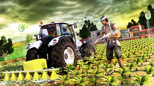 Tractor Farming Simulator - Big Farm Tractor Games apkmr screenshots 3