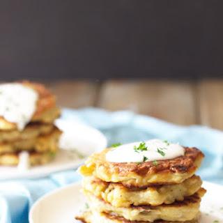 Easy Potato Scallion Pancakes