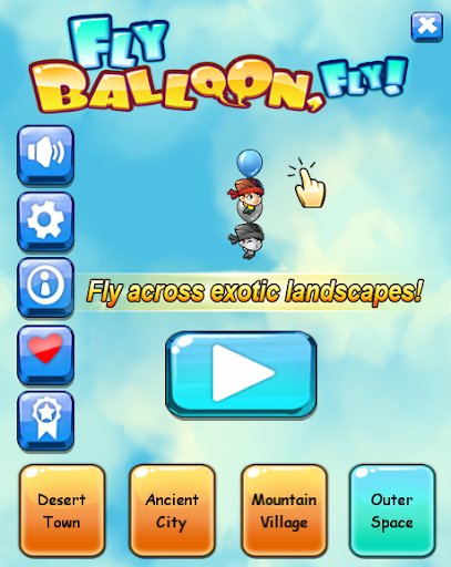 Fly Balloon Fly no ads