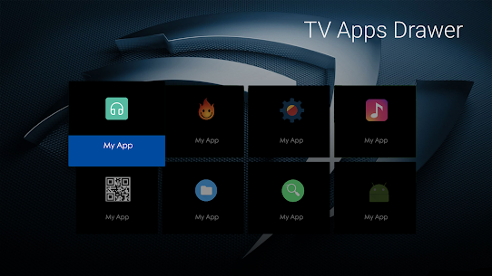 TV Apps Drawer 2