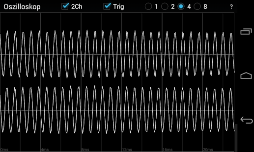 Oscilloscope Screenshot