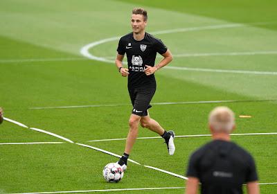 Nils Schouterden fier et honoré d'être le nouveau capitaine d'Eupen